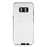 Недорогие Чехлы и кейсы для Galaxy S8 Plus-Кейс для Назначение Samsung S8 Plus S8 Защита от удара удобный Кейс на заднюю панель Сплошной цвет Твердый ПК для S8 Plus S8