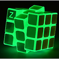Rubik's Cube Luminous Glow Cube 3*3*3 Smooth Speed Cube Magic Cube Puzzle Cube Glow in the Dark Classic Places Gift Square Shaped Girls'