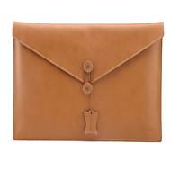 olcso MacBook védőburkok, védőhuzatok, táskák-Ujjak mert Tömör szín Valódi bőr MacBook Air 11 hüvelyk