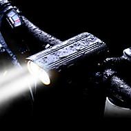 お買い得  フラッシュライト/ランタン/ライト-自転車用ヘッドライト LED 自転車用ライト LED サイクリング 耐水, キット, 複数のモード 充電式電池 2400 lm 内蔵リチウム電池駆動 ホワイト サイクリング