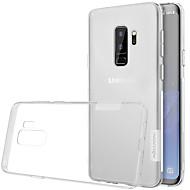 Недорогие Чехлы и кейсы для Galaxy S9-Кейс для Назначение SSamsung Galaxy S9 S9 Plus Ультратонкий Прозрачный Кейс на заднюю панель Сплошной цвет Мягкий ТПУ для S9 Plus S9 S8