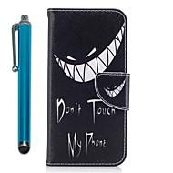 Недорогие Чехлы и кейсы для Galaxy A3(2016)-Кейс для Назначение Samsung A8 2018 A5(2017) Кошелек Бумажник для карт со стендом Флип Магнитный Чехол Живопись Твердый Кожа PU для A3