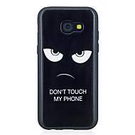Недорогие Чехлы и кейсы для Galaxy A3(2017)-Кейс для Назначение SSamsung Galaxy A5(2017) A3(2017) С узором Кейс на заднюю панель Слова / выражения Мягкий ТПУ для A3 (2017) A5 (2017)