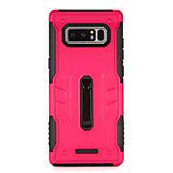 Недорогие Чехлы и кейсы для Galaxy Note 8-Кейс для Назначение SSamsung Galaxy Note 8 со стендом Кейс на заднюю панель броня Твердый ПК для Note 8