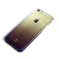お買い得  -ケース 用途 Apple iPhone 6 Plus 耐衝撃 メッキ仕上げ バックカバー 純色 ハード プラスチック のために iPhone 6 Plus