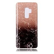 Недорогие Чехлы и кейсы для Galaxy S9 Plus-Кейс для Назначение SSamsung Galaxy S9 S9 Plus IMD С узором Кейс на заднюю панель Мрамор Мягкий ТПУ для S9 Plus S9 S8 Plus S8 S7 edge S7