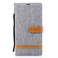 お買い得  携帯電話ケース-ケース 用途 Sony Xperia XA2 Ultra / Xperia L2 ウォレット / カードホルダー / スタンド付き フルボディーケース 純色 ハード PUレザー のために Xperia XA2 Ultra / Xperia XA2 / Xperia XZ1 Compact