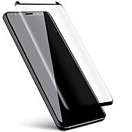 お買い得  Samsung 用スクリーンプロテクター-スクリーンプロテクター Samsung Galaxy のために S9 Plus 強化ガラス 1枚 フルボディプロテクター 3Dラウンドカットエッジ 傷防止 硬度9H