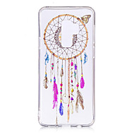 Недорогие Чехлы и кейсы для Galaxy S9 Plus-Кейс для Назначение SSamsung Galaxy S9 Plus / S9 IMD / С узором / Прозрачный Body Кейс на заднюю панель Ловец снов Мягкий ТПУ для S9 / S9 Plus / S8 Plus