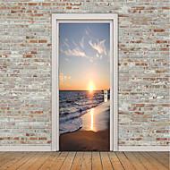お買い得  世帯の大昇進-静物画 航海 ウォールステッカー プレーン・ウォールステッカー 3D ウォールステッカー 飾りウォールステッカー 写真ステッカー フロアステッカー ドアステッカー, ビニール ホームデコレーション ウォールステッカー・壁用シール 窓 壁