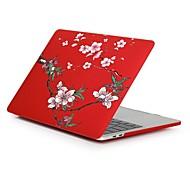 """tanie Etui, torby i pokrowce do MacBooka-MacBook Futerał Kwiaty Plastikowy na Nowy MacBook Pro 15"""" / Nowy MacBook Pro 13"""" / MacBook Pro 15 cali"""
