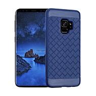 Недорогие Чехлы и кейсы для Galaxy S9-Кейс для Назначение SSamsung Galaxy S9 S9 Plus Защита от удара Кейс на заднюю панель Геометрический рисунок Мягкий ТПУ для S9 Plus S9