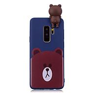 Недорогие Чехлы и кейсы для Galaxy S7-Кейс для Назначение SSamsung Galaxy S9 Plus / S9 С узором Кейс на заднюю панель Животное Мягкий ТПУ для S9 / S9 Plus / S8 Plus