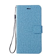 Недорогие Чехлы и кейсы для Galaxy А-Кейс для Назначение SSamsung Galaxy A7(2017) A5(2017) Бумажник для карт Кошелек со стендом Флип Чехол Сплошной цвет Твердый Кожа PU для