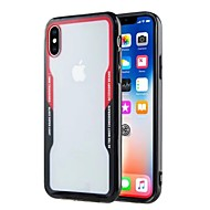 Недорогие Кейсы для iPhone 8 Plus-Кейс для Назначение Apple iPhone X iPhone 8 Plus Ультратонкий Прозрачный Кейс на заднюю панель Однотонный Твердый Акрил для iPhone X