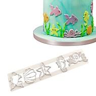 お買い得  キッチン用小物-ベークツール プラスチック 誕生日 / DIY クッキー / Cupcake / ケーキのための ベーキング&ペストリーツール / クッキーカッター 1個