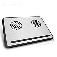 Недорогие Подставки и стенды для MacBook-Устойчивый стенд для ноутбука Другое для ноутбука Подставка с охлаждающим вентилятором Алюминий Другое для ноутбука