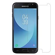 Недорогие Защитные пленки для Samsung-Защитная плёнка для экрана Samsung Galaxy для J3 (2017) Закаленное стекло 1 ед. Защитная пленка для экрана 2.5D закругленные углы Уровень