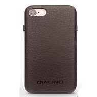 abordables Fundas para iPhone 8-Funda Para Apple iPhone 8 iPhone 7 Antigolpes Funda Trasera Color sólido Dura piel genuina para iPhone 8 iPhone 7