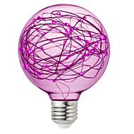 お買い得  LED ボール型電球-BRELONG® 1個 3W 300lm E26 / E27 LEDボール型電球 95 LEDビーズ SMD 装飾用 RGB ピンク イエロー 220-240V