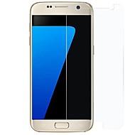 お買い得  -スクリーンプロテクター Samsung Galaxy のために S7 強化ガラス 1枚 スクリーンプロテクター 傷防止 防爆 ハイディフィニション(HD)