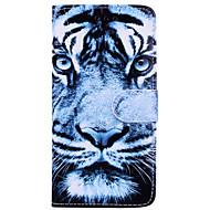 Недорогие Кейсы для iPhone 8 Plus-Кейс для Назначение Apple iPhone X iPhone 6 Бумажник для карт Флип С узором Чехол Животное Твердый Кожа PU для iPhone X iPhone 8 Pluss