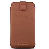 Недорогие Чехлы и кейсы для Galaxy S-Кейс для Назначение SSamsung Galaxy S9 S8 Plus Бумажник для карт Защита от удара Мешочек Сплошной цвет Мягкий Настоящая кожа для C7