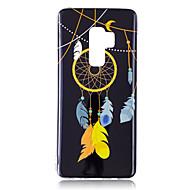 Недорогие Чехлы и кейсы для Galaxy S8-Кейс для Назначение SSamsung Galaxy S9 S9 Plus Сияние в темноте IMD С узором Кейс на заднюю панель Блеск Ловец снов Мягкий ТПУ для S9