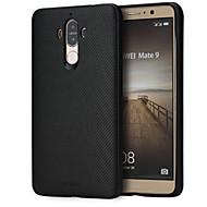 お買い得  -ケース 用途 Huawei Mate 9 耐衝撃 バックカバー 純色 ソフト シリコーン のために Mate 9