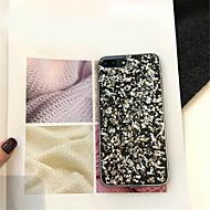 Недорогие Кейсы для iPhone 8-Кейс для Назначение Apple iPhone X iPhone 7 Plus С узором Кейс на заднюю панель Сияние и блеск Мягкий ТПУ для iPhone X iPhone 8 Pluss