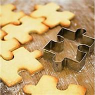 お買い得  キッチン用小物-ベークツール ステンレス鋼 クリエイティブキッチンガジェット クッキー / 調理器具のための 方形 クッキーカッター / パスタツール 1個