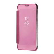 billige Etuier / covers til Galaxy A-modellerne-Etui Til Samsung Galaxy A8 2018 A8 Plus 2018 Spejl Auto Sove/Vågne Fuldt etui Helfarve Hårdt PC for A5(2018) A7(2018) A3 (2017) A5 (2017)