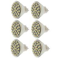 お買い得  LED スポットライト-SENCART 6本 2W 140-180lm MR11 LEDスポットライト MR11 30 LEDビーズ SMD 3528 装飾用 温白色 / クールホワイト / イエロー 12V