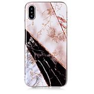 Недорогие Кейсы для iPhone 8-Кейс для Назначение Apple iPhone X / iPhone 8 IMD / С узором Кейс на заднюю панель Сияние и блеск / Мрамор Мягкий ТПУ для iPhone X / iPhone 8 Pluss / iPhone 8