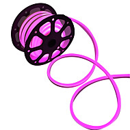voordelige LED-verlichtingsstrips-Flexibele LED-verlichtingsstrips 360 LEDs Warm wit Wit Roze Groen Geel Blauw Rood Knipbaar Waterbestendig Koppelbaar 220V