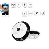 お買い得  -strongshine®960pサポート128GB sd(内蔵スピーカーマイク)昼夜の動き360度のipカメラ