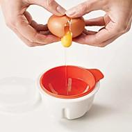 お買い得  キッチン用小物-キッチンツール プラスチック 電子レンジ用 / クリエイティブキッチンガジェット DIYツール 卵のための / 調理器具のための 1個