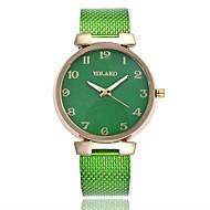 Χαμηλού Κόστους Μοντέρνα ρολόγια-Γυναικεία Χαλαζίας Μοδάτο Ρολόι Κινέζικα Καθημερινό Ρολόι Plastic Μπάντα Μινιμαλιστική Μαύρο Λευκή Μπλε Κόκκινο Πράσινο Χρυσό Ροζ Rose