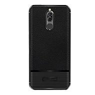 お買い得  携帯電話ケース-ケース 用途 Huawei Mate 10 lite Mate 10 pro 超薄型 バックカバー ソリッド ソフト TPU のために Mate 10 lite Mate 10 pro Mate 10
