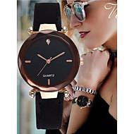 levne Šperky&Hodinky-Dámské Náramkové hodinky imitace Diamond Kůže Kapela Analogové Skládaný Elegantní Černá / Červená / Zelená - Červená Zelená Růžová Jeden rok Životnost baterie