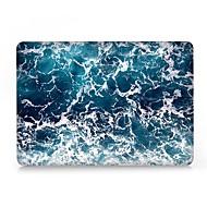 """お買い得  MacBook 用ケース/バッグ/スリーブ-MacBook ケース のために マーブル プラスチック 新MacBook Pro 15"""" / 新MacBook Pro 13"""" / MacBook Pro 15インチ"""