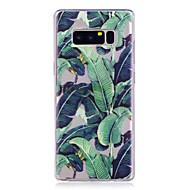 Недорогие Чехлы и кейсы для Galaxy Note 8-Кейс для Назначение SSamsung Galaxy Note 8 С узором Кейс на заднюю панель дерево Мягкий ТПУ для Note 8