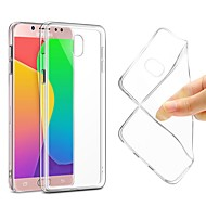 cheap Galaxy J Series Cases / Covers-Case For Samsung Galaxy J7 (2017) J7(2016) Ultra-thin Transparent Body Back Cover Solid Colored Soft TPU for J7 (2017) J7 (2016) J7 J5