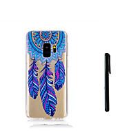 Недорогие Чехлы и кейсы для Galaxy S9 Plus-Кейс для Назначение SSamsung Galaxy S9 S9 Plus Полупрозрачный Кейс на заднюю панель Ловец снов Мягкий ТПУ для S9 Plus S9 S8 Plus S8 S7