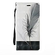Недорогие Чехлы и кейсы для Galaxy Note-Кейс для Назначение SSamsung Galaxy Note 8 Note 5 Бумажник для карт со стендом Флип Чехол Растения одуванчик Мультипликация Твердый Кожа