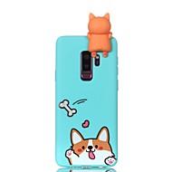 Недорогие Чехлы и кейсы для Galaxy S9-Кейс для Назначение SSamsung Galaxy S9 S9 Plus С узором Своими руками Кейс на заднюю панель С собакой Мягкий ТПУ для S9 Plus S9 S8 Plus