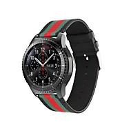 Недорогие Аксессуары для смарт-часов-Ремешок для часов для Gear S3 Classic LTE Samsung Galaxy Современная застежка Нейлон Повязка на запястье
