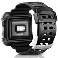 Недорогие Аксессуары для смарт-часов-Ремешок для часов для Fitbit Blaze Fitbit Спортивный ремешок силиконовый Повязка на запястье