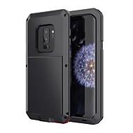 Недорогие Чехлы и кейсы для Galaxy S9-Кейс для Назначение SSamsung Galaxy S9 Защита от влаги Защита от удара Чехол броня Твердый Металл для S9