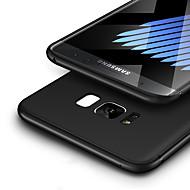 Недорогие Чехлы и кейсы для Galaxy S8-Кейс для Назначение SSamsung Galaxy S8 Plus / S8 Ультратонкий / Матовое Кейс на заднюю панель Однотонный Мягкий ТПУ для S8 Plus / S8